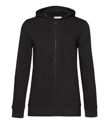 B&C_P_WW36B_Organic-zipped-hood_women_black-pure_front_