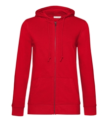 B&C_P_WW36B_Organic-zipped-hood_women_red_front_