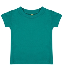 Larkwood-Baby-Toddler-Crew-Neck-T-Shirt-LW020-Jade-FT