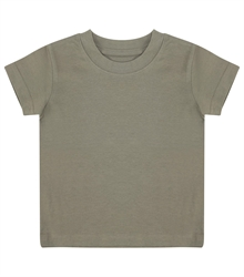 Larkwood-Baby-Toddler-Crew-Neck-T-Shirt-LW020-Khaki-FT