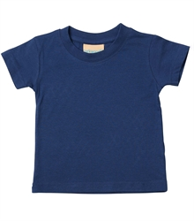 Larkwood-Baby-Toddler-Crew-Neck-T-Shirt-LW020-Navy-FT
