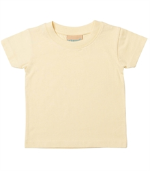 Larkwood-Baby-Toddler-Crew-Neck-T-Shirt-LW020-PaleYellow-FT