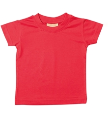 Larkwood-Baby-Toddler-Crew-Neck-T-Shirt-LW020-Red-FT
