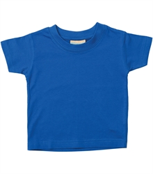 Larkwood-Baby-Toddler-Crew-Neck-T-Shirt-LW020-Royal-FT