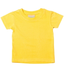 Larkwood-Baby-Toddler-Crew-Neck-T-Shirt-LW020-Sunflower-FT