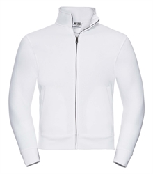 Russell-Authentic-Sweat-jacket-267M-white-bueste-front