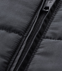 Russell-Ladies-Cross-Jacket-R-430F-Black-Detail Zipper