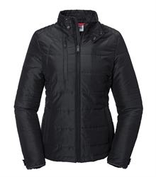 Russell-Ladies-Cross-Jacket-R-430F-Black-Front