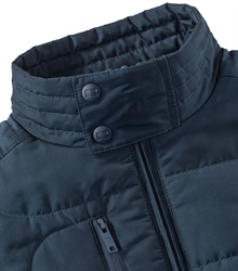 Russell-Ladies-Cross-Jacket-R-430F-French Navy-Detail-Collar