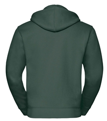 Russell-Mens-Authentic-Zipped-Hood-266M-Bottle-green-back