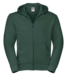 Russell-Mens-Authentic-Zipped-Hood-266M-Bottle-green-bueste-front