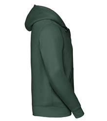 Russell-Mens-Authentic-Zipped-Hood-266M-Bottle-green-side