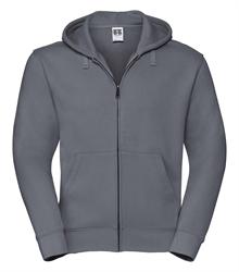 Russell-Mens-Authentic-Zipped-Hood-266M-Convoy-grey-bueste-front