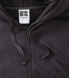 Russell-Mens-Authentic-Zipped-Hood-266M-black-bueste-detail