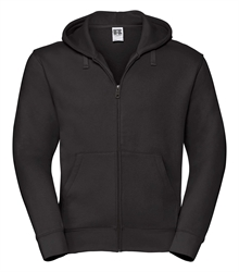 Russell-Mens-Authentic-Zipped-Hood-266M-black-bueste-front