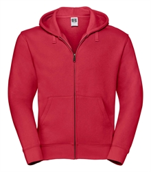 Russell-Mens-Authentic-Zipped-Hood-266M-classic-red-bueste-front