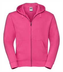 Russell-Mens-Authentic-Zipped-Hood-266M-fuchsia-bueste-front