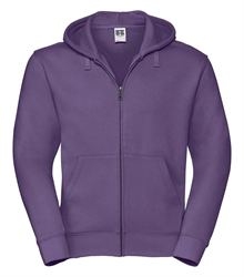 Russell-Mens-Authentic-Zipped-Hood-266M-purple-bueste-front