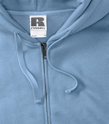 Russell-Mens-Authentic-Zipped-Hood-266M-sky-bueste-detail