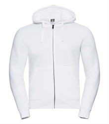 Russell-Mens-Authentic-Zipped-Hood-266M-white-bueste-front