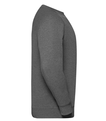 Russell-Mens-HD-Raglan-Sweat-280M-Grey-marl-side