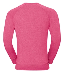 Russell-Mens-HD-Raglan-Sweat-280M-Pink-marl-back