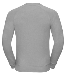 Russell-Mens-HD-Raglan-Sweat-280M-Silver-marl-back