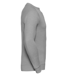 Russell-Mens-HD-Raglan-Sweat-280M-Silver-marl-side