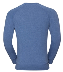 Russell-Mens-HD-Raglan-Sweat-280M-blue-marl-back