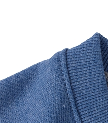 Russell-Mens-HD-Raglan-Sweat-280M-blue-marl-detail