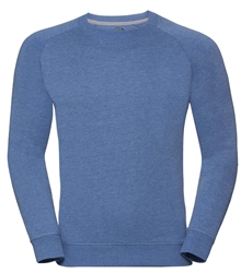 Russell-Mens-HD-Raglan-Sweat-280M-blue-marl-front