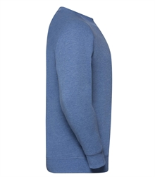Russell-Mens-HD-Raglan-Sweat-280M-blue-marl-side