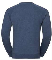 Russell-Mens-HD-Raglan-Sweat-280M-bright-navy-marl-back