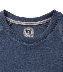 Russell-Mens-HD-Raglan-Sweat-280M-bright-navy-marl-detail