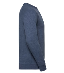 Russell-Mens-HD-Raglan-Sweat-280M-bright-navy-marl-side