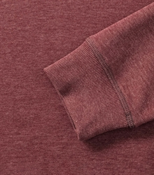 Russell-Mens-HD-Raglan-Sweat-280M-maroon-marl-detail-1