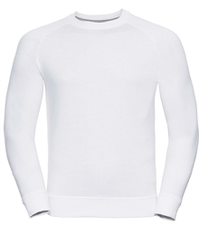 Russell-Mens-HD-Raglan-Sweat-280M-white-front