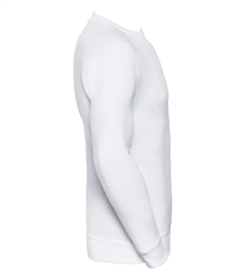 Russell-Mens-HD-Raglan-Sweat-280M-white-side